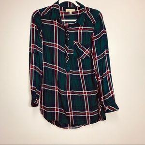Hawthorn green flannel